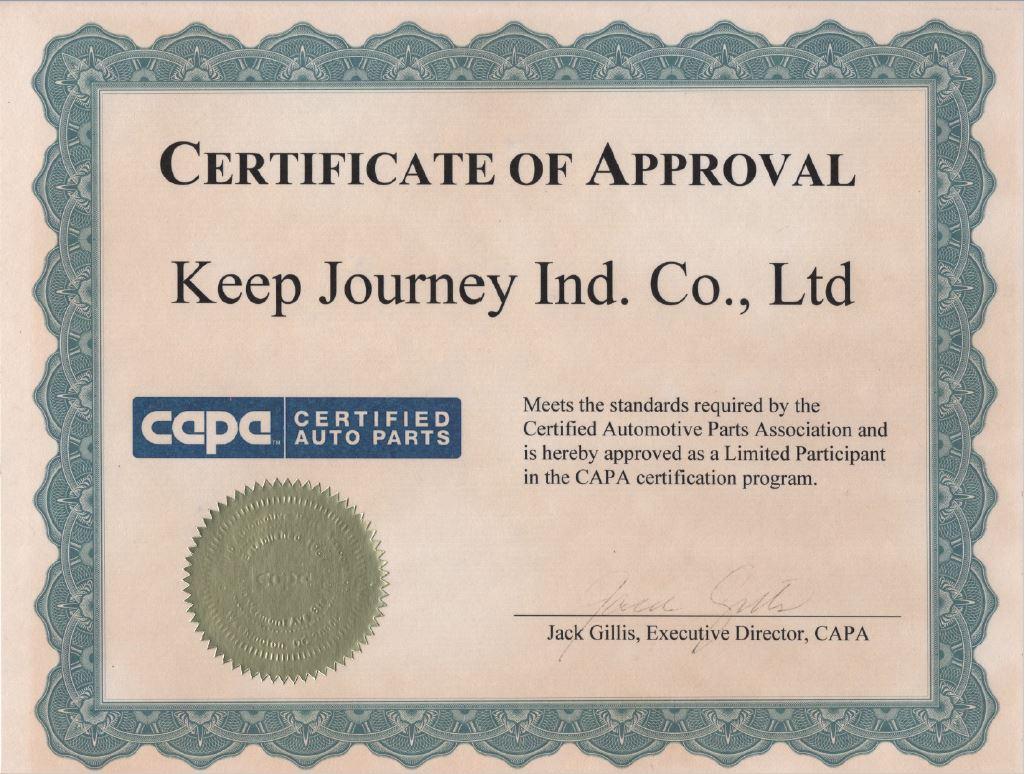 certification capa